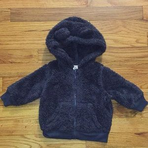 Arizona Jeans fleece sweater (3-6 months)
